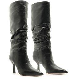 Bota Slouchy Leather Black