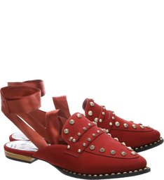 Mule Flat Red Wine Lady Tremaine
