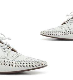 Sapato New Oxford Tressê White