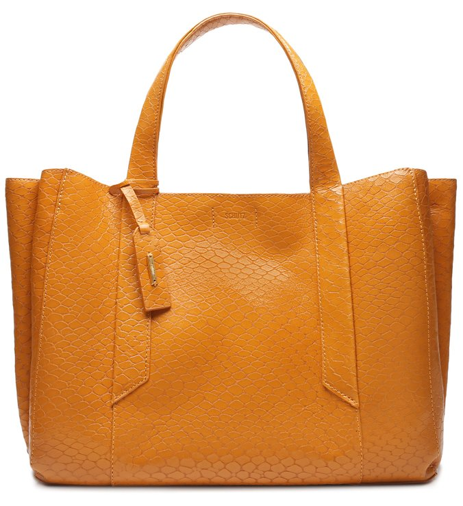 Shopping Bag Archie Snake Ocre | Schutz