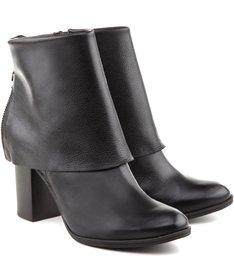 Bota Folded Black