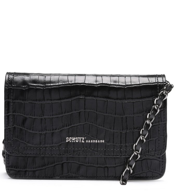 Crossbody 4 Girls Lorena Croco Black | Schutz
