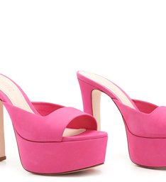 Sandália Mule Meia Pata Pink