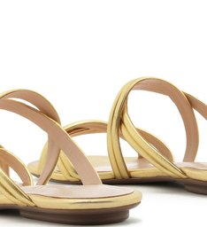 Slide Double Straps Gold