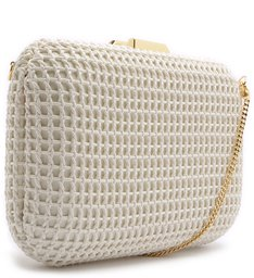 CLUTCH DUDA TRAMA WHITE