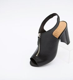 Sandália Zip Black