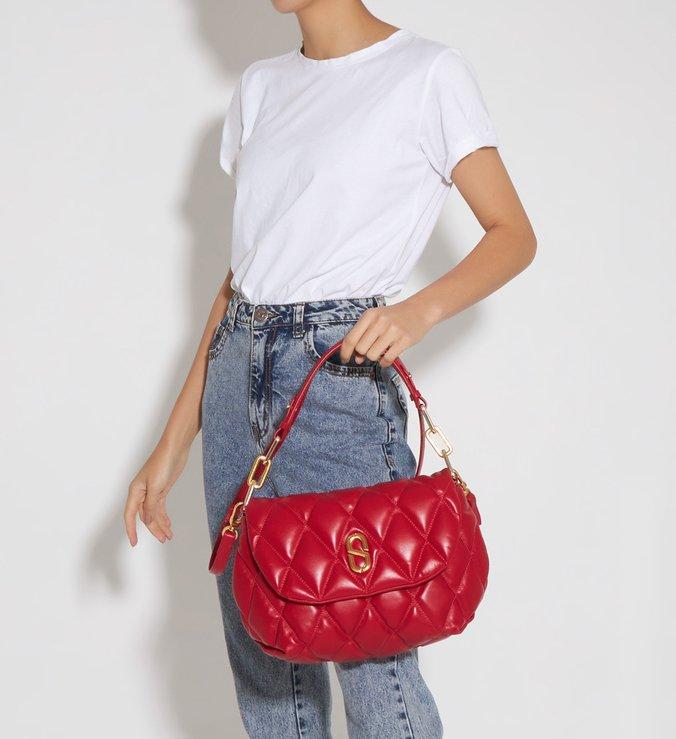 Shoulder Bag Candy Red