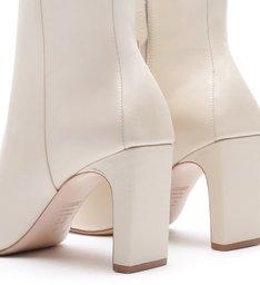 Bota New Minimal Short Off White