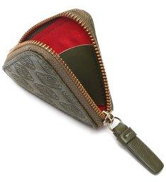 Porta-Máscara Emblem Couro Verde-Militar