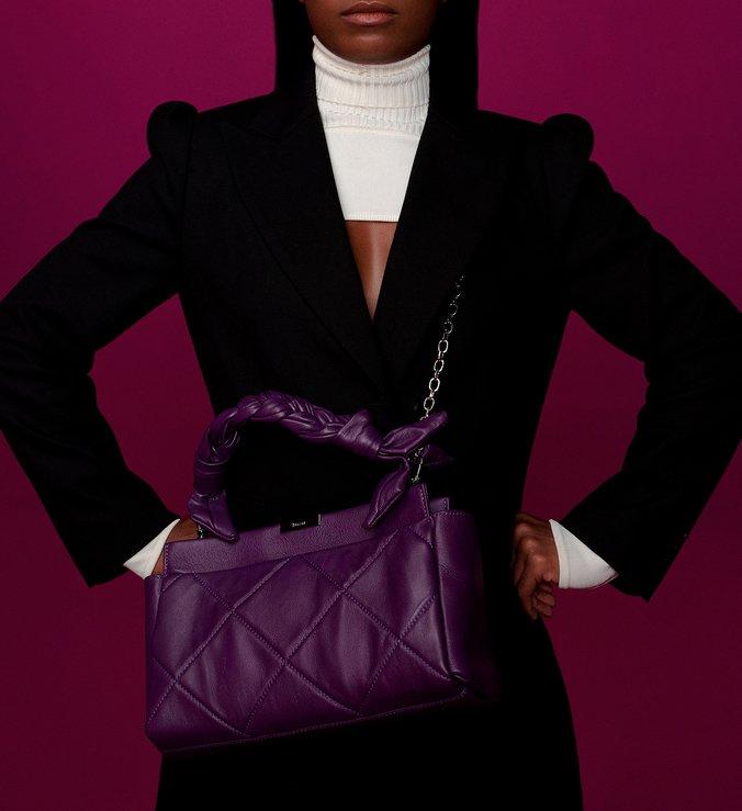 Shoulder Bag Iris Purple