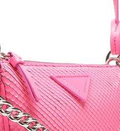 Crossbody Emmy Bright Snake Pink