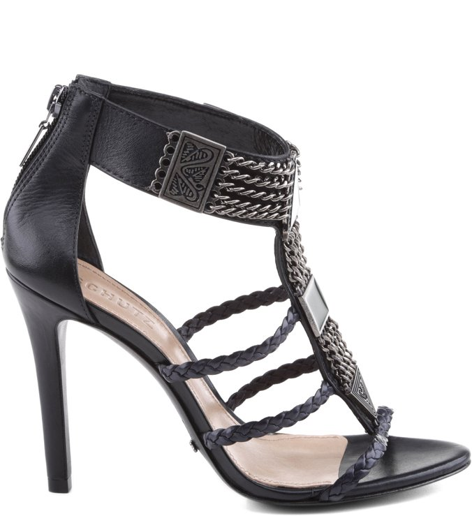 Sandália Rock High Heel Black
