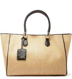 Shopping Bag Ráfia Black