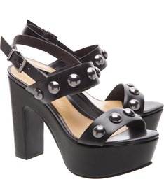 Sandália Plataforma Maxi Black