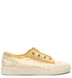 Sneaker Smash Vichy Yellow