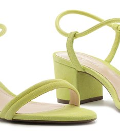 SANDÁLIA BLOCK HEEL STRINGS LIME