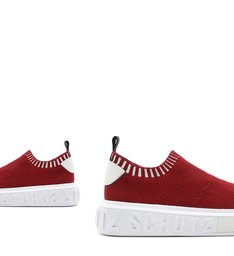 Sneaker It Schutz Bold Knit Red