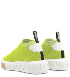 Sneaker It Schutz Bold Knit Neon