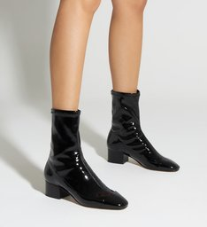 Sock Boot Verniz Black