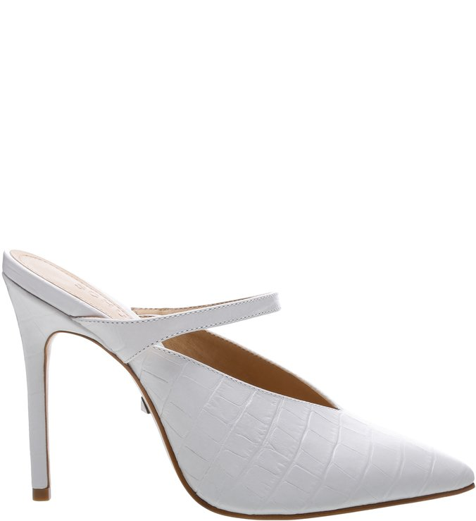 New Quereda Croco White | Schutz
