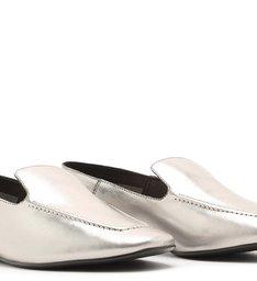 Loafer Metallic Prata