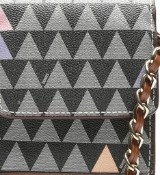 Crossbody New 4GIRLS Triangle Black