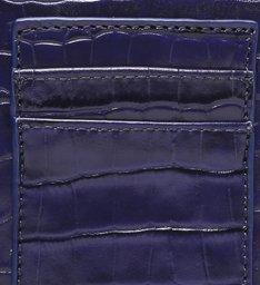 Bolsa Tiracolo Pequena 4GIRLS Believe Croco Azul