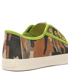 Sneaker Smash Camouflage Green