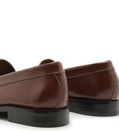 Mocassim Leather Verniz Brown