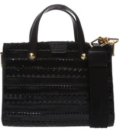 Mini Tote Live Love Black Croco