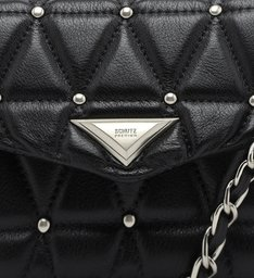Crossbody New Lorena Studs Black