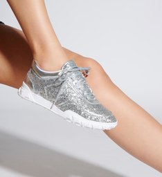Tênis Glitter Silver