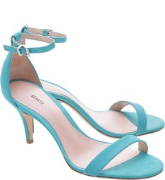 Sandália Single Ankle Strap Bright Acqua