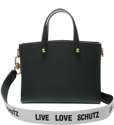 Tote Live Love Texture Green