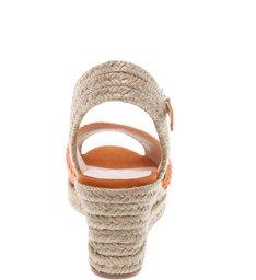 Sandália Texture Heel New Ochre