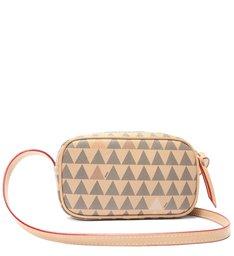 Bolsa Tiracolo New Mini Kate Triangle Bege