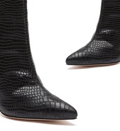 BOTA MARYANA CROCO BLACK