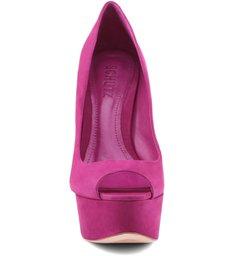 Scarpin Peep Toe True Pink