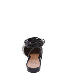 Sapatilha Black Lace Up Natural