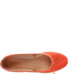 Sapatilha Lace Up Bright Orange