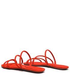 Flat Strings Nobuck Red