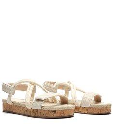 Sporty Sandal Cortiça White