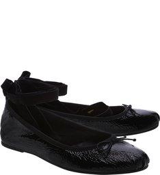 Sapatilha Lace Up Bright Black