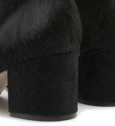 Bota Block Heel Soft Black