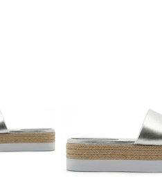 Slide Flatform Natural Prata