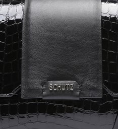 Satchel Bag Rollis Croco Black