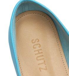 Sapato Mocassim Couro Azul
