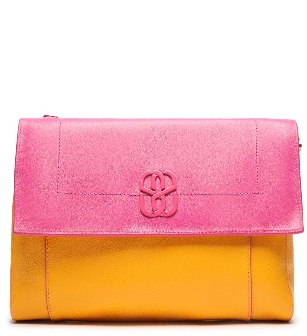 Crossbody Double Face Pink/yellow | Schutz