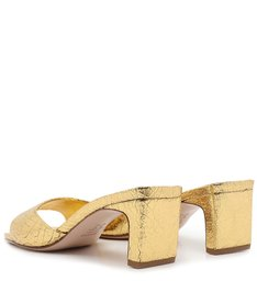 Sandália Mule Gold