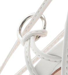 SANDÁLIA HIGH LACE-UP WHITE